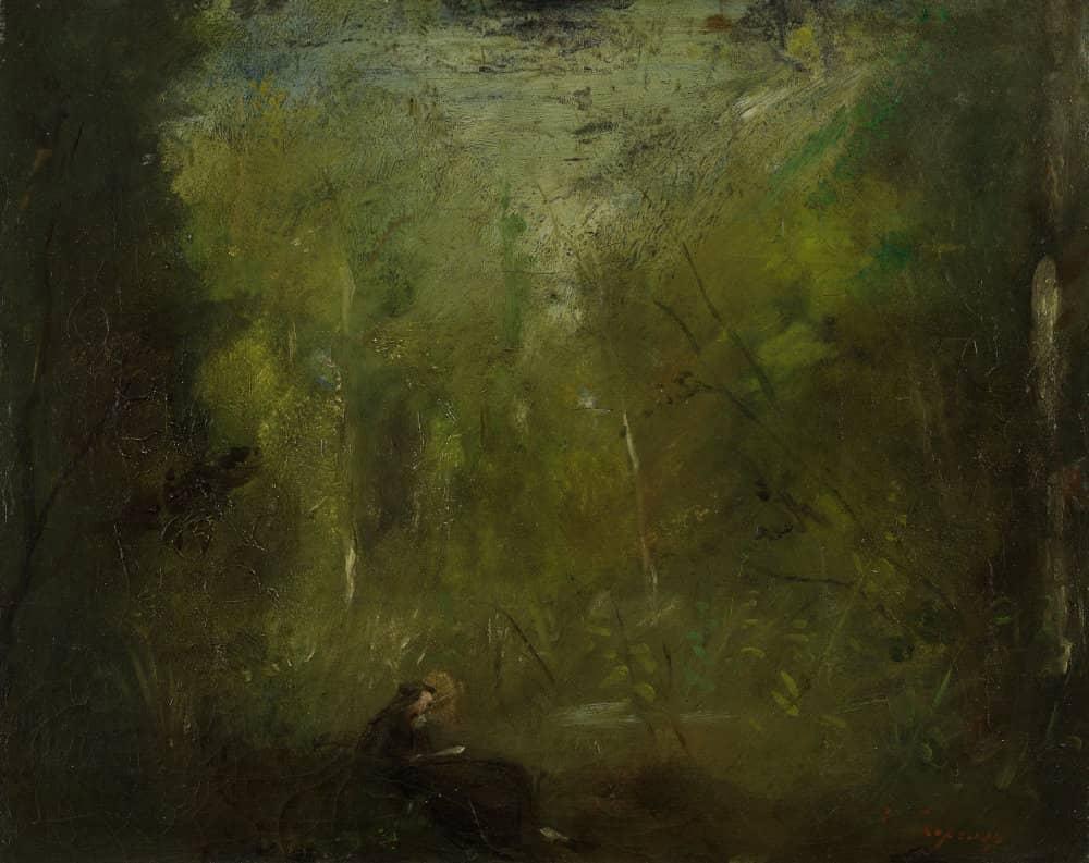 Jean-Baptiste, Solitude, la forêt, 1850-1875