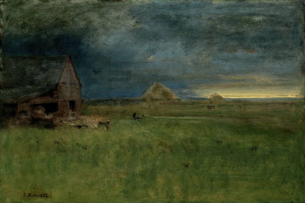 George Inness, The Lonely Farm, Nantucket, 1892