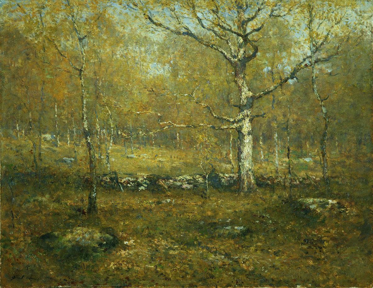 Henry Ward Ranger, Spring Woods, ca. 1895–1900