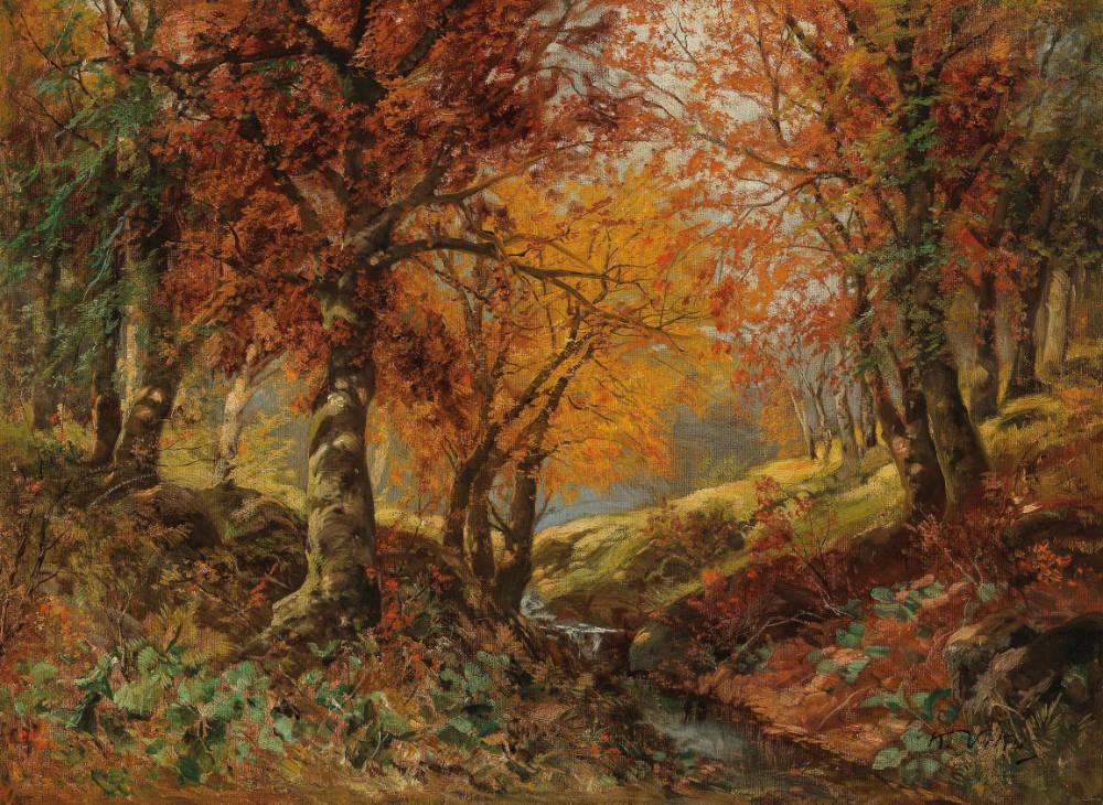 Karl Vikas (1875–1934), A Forest Glade