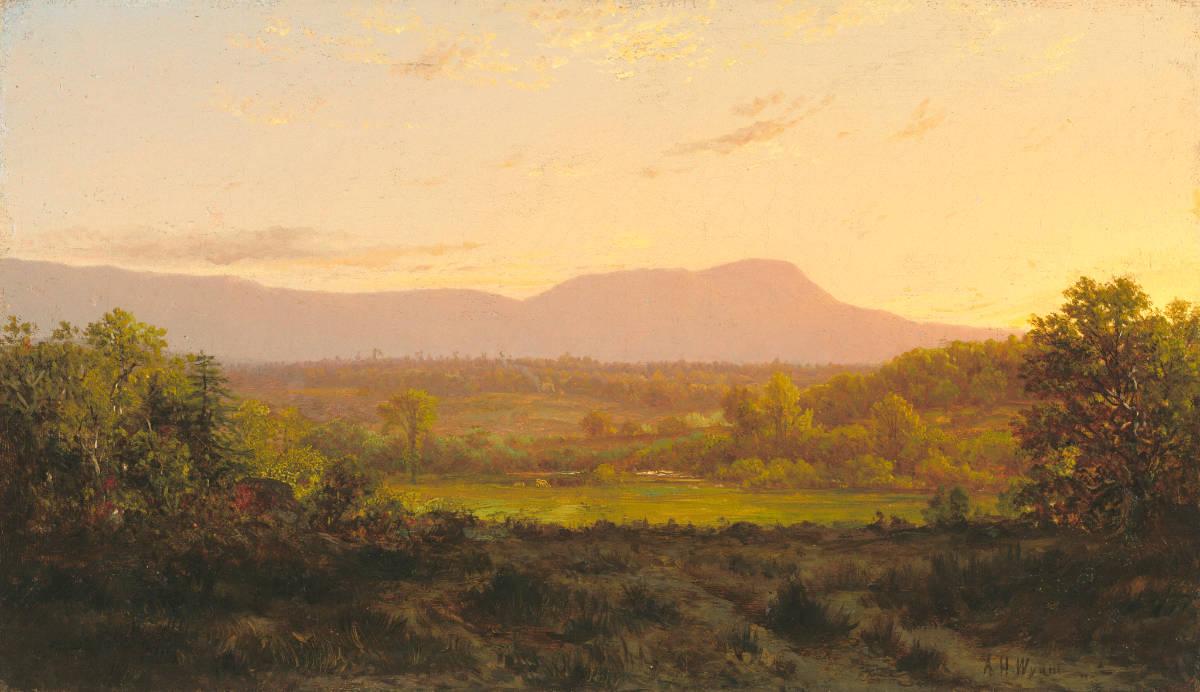 Alexander Helwig Wyant, Peaceful Valley, 1872